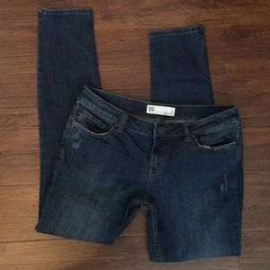 RSQ slightly distressed skinny jeans
